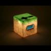 Minecraft ébresztőóra világítással