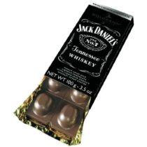 Jack Daniel's whiskey-vel töltött táblás csokoládé
