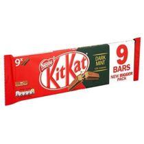 Mentolos Étcsokoládés Kit Kat Csomag (9x2db) (186g)