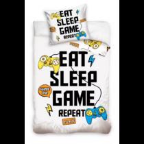 Gamer - Eat, Sleep, Game ágyneműhuzat