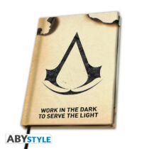 Assassin's Creed A5 jegyzetfüzet