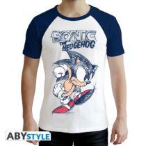 Sonic férfi prémium póló