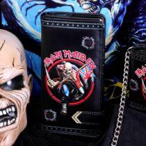 Iron Maiden dombornyomott pénztárca