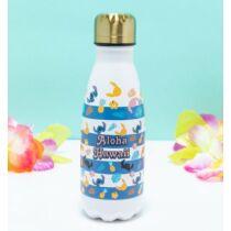 Lilo és Stitch fém vizes palack - Aloha Hawaii