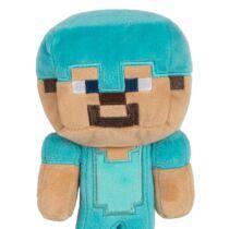Minecraft Gyémánt Steve plüssfigura