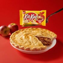 Kit Kat Limited Edition Apple Pie szelet