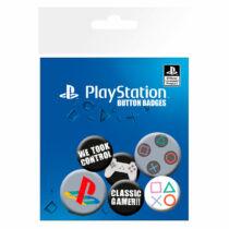 Playstation kitűző szett