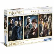 Harry Potter - Karakterek  3x1000db-os puzzle szett
