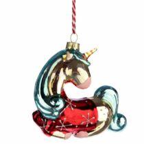 Varázslatos Unikornis karácsonyfadísz