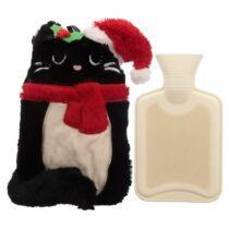 Karácsonyi cicás ágymelegítő