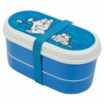 Simon macskája kék ételhordó szett (2 db)