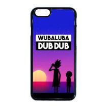 Rick és Morty - WubaLuba Dub Dub - iPhone tok - (többféle)