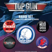 Top Gun kitűző szett