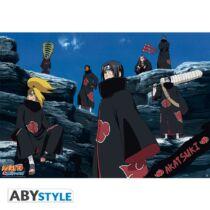 Naruto Shippuden - Akatsuki poszter
