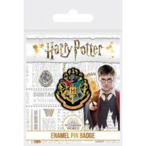 Harry Potter Hogwarts kitűző