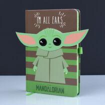 Star Wars The Mandalorian A5-ös jegyzetfüzet