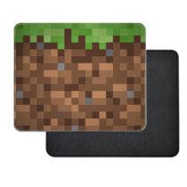Minecraft föld műbőr egérpad