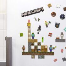 Minecraft hűtőmágnes szett