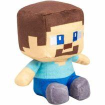 Minecraft Steve plüss figura