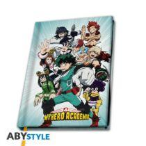 My Hero Academia A5 jegyzetfüzet