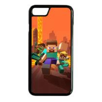 Minecraft - Karakterek - iPhone tok - (többféle)