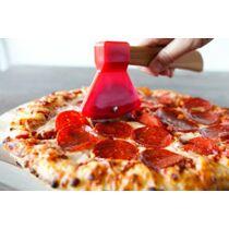 Balta formájú pizzavágó