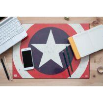 Amerika Kapitány asztali füzetalátét