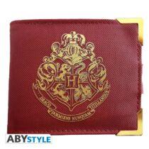 Harry Potter - Golden Hogwarts prémium pénztárca