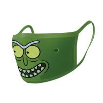 Rick és Morty - Pickle Rick - Mosható Arcmaszk szett (2db-os)