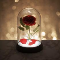 Szépség és a Szörnyeteg - Rózsa hangulatvilágítás