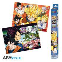 Dragon Ball Z- Saiyans 2db-os poszter szett