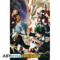 My Hero Academia - Heroes VS. Villains poszter