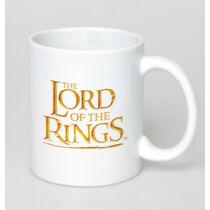 A Gyűrűk Ura - Logó bögre