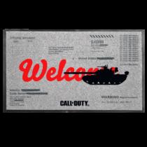 Call of Duty: Cold War lábtörlő