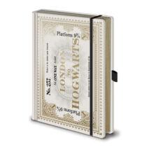 Harry Potter - Roxfort Expressz Jegy Prémium jegyzetfüzet, A5