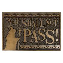 A gyűrűk ura - You Shall Not Pass lábtörlő