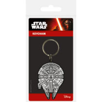 Star Wars - Millennium Falcon gumi kulcstartó