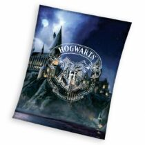 Harry Potter Hogwarts plüss takaró