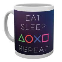 Playstation - Eat, Sleep, Playstation, Repeat bögre