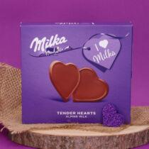 Milka Desszert - szívecske alakú csokoládé