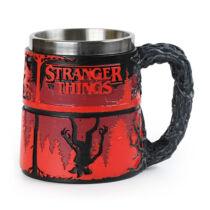Stranger Things - The Upside Down prémium korsó