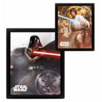 Star Wars -  Vader VS Skywalker 3D falikép