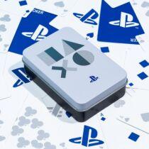 Playstation PS5 fehér francia kártya
