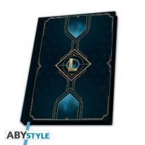 League of Legends - Hexteck logo jegyzetfüzet