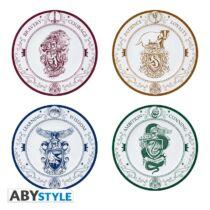 Harry Potter 4 darabos tányér szett