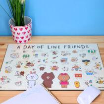 BT21 Line Friends asztali füzetalátét