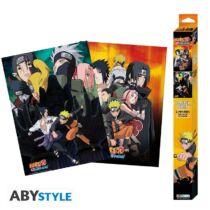Naruto Shippuden - Ninjas poszter szett (2x52x38)