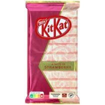 Kit Kat epres, fehércsokis tábla csokoládé
