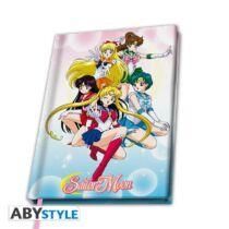 Sailor Moon jegyzefüzet