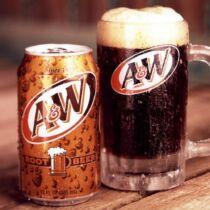 A&W gyökérsör üdítőital